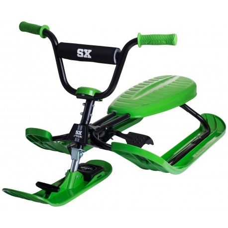 Stiga Snowracer SX Pro Green - Спортна шейна с кормило