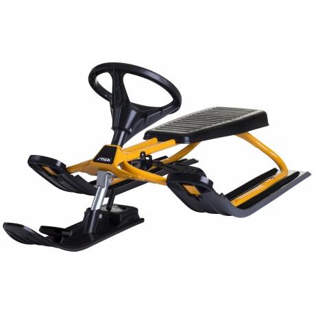 Stiga Snowracer Classic PRO Yellow - Класическа шейна с кормило